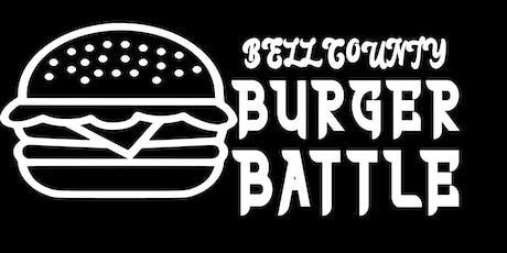 Bell County Burger Battle tickets