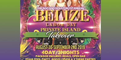 Chicago Invades Belize Labor Day weekend