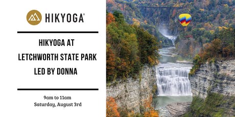 Hikyoga at Letchworth State Park with Donna  tickets