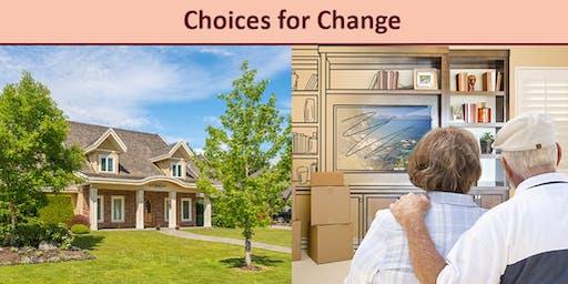 Choices for Change - Free Senior-Focused Seminars
