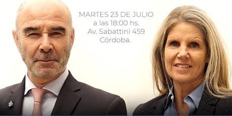 JJ Gómez Centurión y Cynthia Hotton En Córdoba entradas