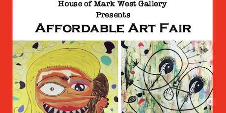 Affordable Art Fair tickets