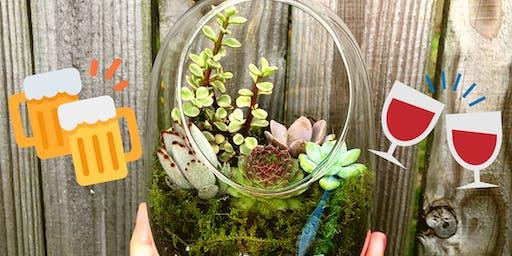 Make-N-Take: Succulent Terrariums