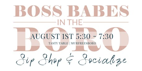 Boss Babes in the Boro - August tickets