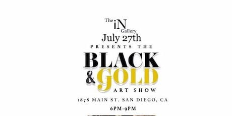 The Black & Gold Art Show tickets