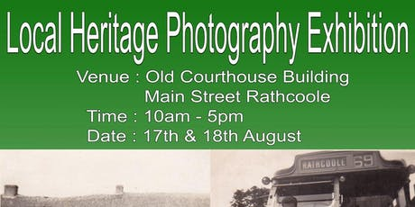 Local Heritage Photography Exhibition tickets