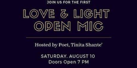 Love & Light Open Mic tickets