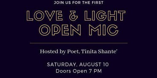 Love & Light Open Mic