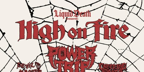 High On Fire @ The Orpheum tickets