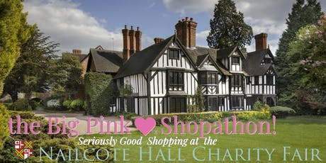 Big Pink Shopathon: Quality Shopping Fair at Nailcote Hall, Warwickshire tickets