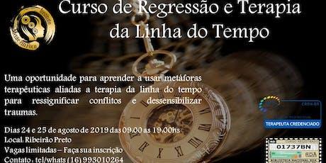 Curso de Terapia da linha do tempo e Regressão. ingressos