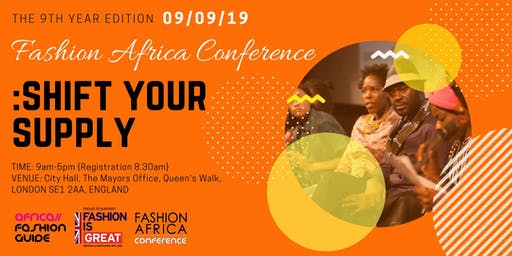 Fashion Africa Conference 2019 plus 1 day Business Masterclass