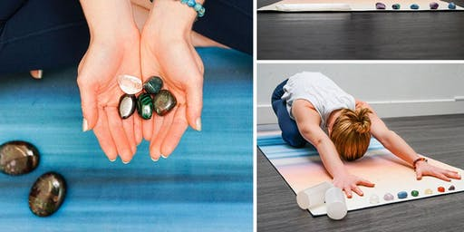 Rooftop Yoga + Intro to Crystals