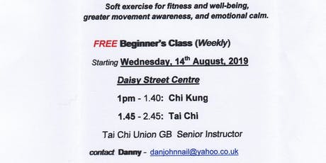 FREE Tai Chi for beginners tickets