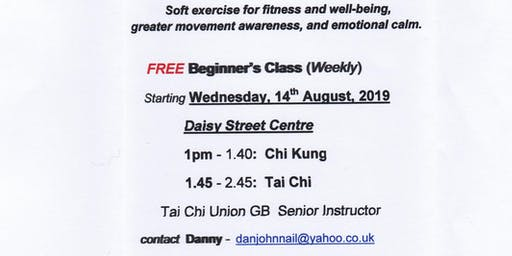 FREE Tai Chi for beginners