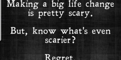 If Your Dream Doesnt SCARE You Its Not Big Enough tickets