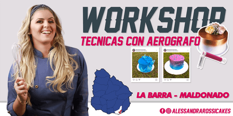 Workshop Técnicas en Aerógrafo - Maldonado entradas