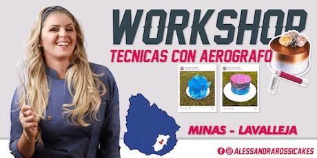 Workshop Técnicas en Aerógrafo - Lavalleja entradas