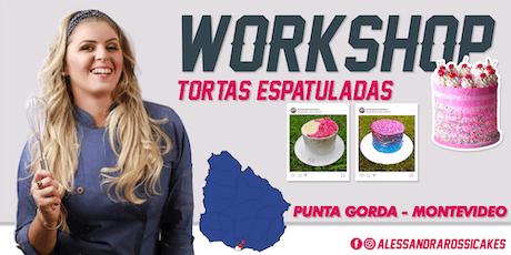Workshop Tortas Espatuladas - Montevideo entradas