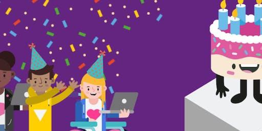 Trafford Coder Dojo - 1st Birthday