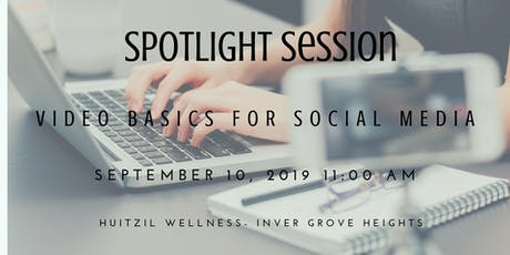 Spotlight Session: Making Social Media Videos For My Business is Just Too Scary! tickets