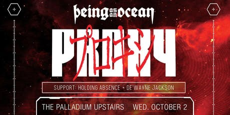 PROXY WORD TOUR - BEING AS AN OCEAN tickets