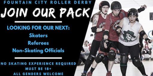 Fountain City Roller Derby Recruitment Night