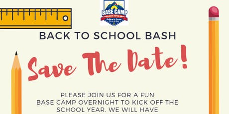 BASE Camp Back to School Bash 2019 tickets