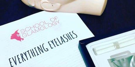 Charlotte, Everything Eyelashes or Classic (mink) Eyelash Certification tickets