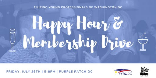 FYP-DC Happy Hour and Membership Drive