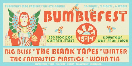 BUMBLEFEST '19: THE BLANK TAPES, WINTER, WORN-TIN, BIG BLISS + 33 MORE! tickets