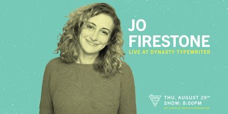 Jo Firestone tickets