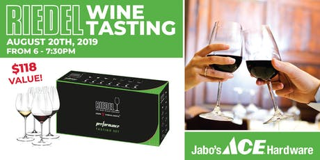 Riedel Performance Wine Tasting Event tickets