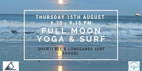 Full Moon Yoga & Surf  tickets