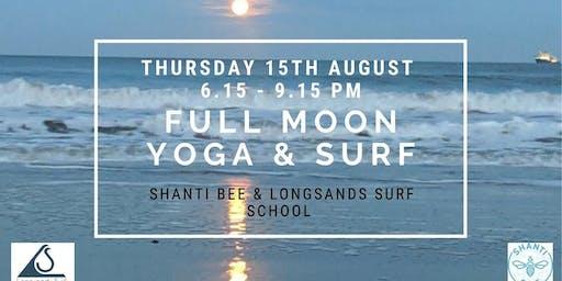 Full Moon Yoga & Surf