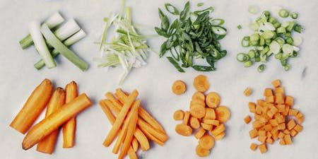 Basics Cooking Class: Knife Cuts And Dressings