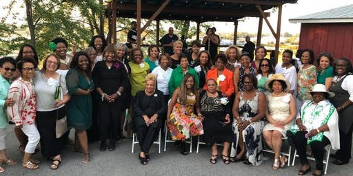 Rise and Wine Fun-raising Party with the St. Louis (MO) Links Chapter, Inc.