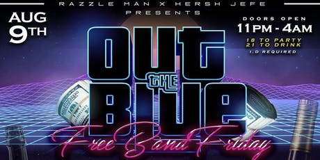 OUT THE BLUE | #FreeBandFriday | tickets
