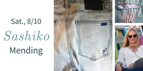 Sashiko Embroidery- Mending w. Jo Cohen tickets
