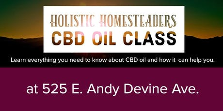 CBD Education Class FREE tickets