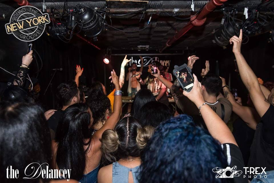 21+/ Sound The Groove | The Delancey NYC [New York, NY]