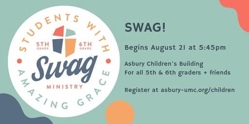 SWAG(Students with Amazing Grace) Kick-off!