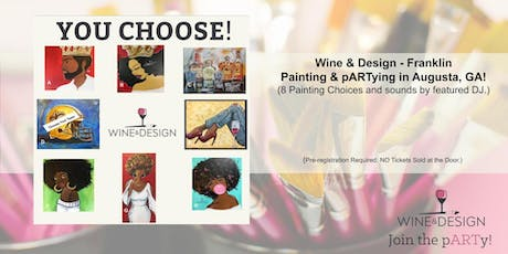 Wine & Design - Franklin Paint  & Sip pARTy in Augusta, GA tickets