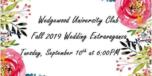 Wedgewood University Club Fall 2019 Wedding Extravaganza