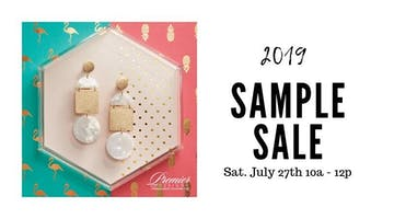 Annual Sample Sale Blow Out