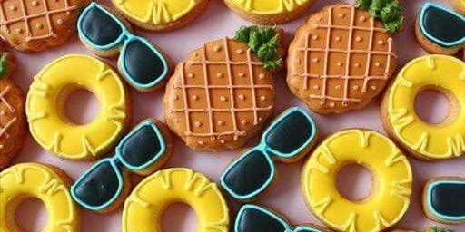 PINEAPPLE COOKIE DECORATING CLASS