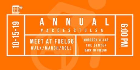 Access Tulsa 2nd Annual March/Walk/Roll tickets