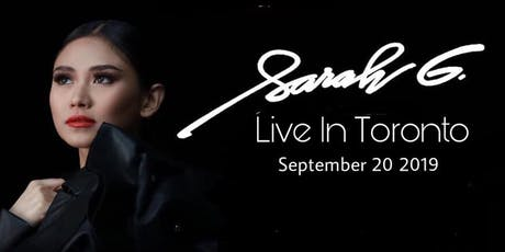 Sarah Geronimo Live In Toronto tickets