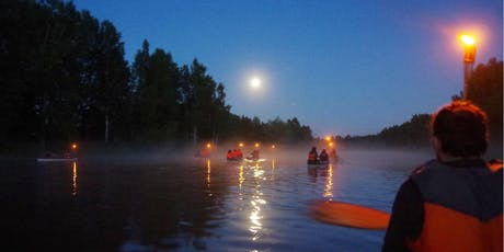 Full Moon Paddle and Yoga on Lake Pend Oreille tickets