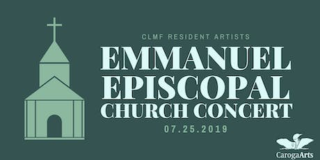 Concert at Emmanuel Episcopal Church tickets